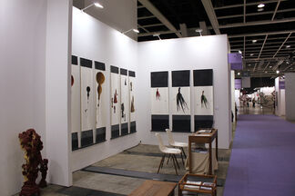 Blindspot Gallery at Art Basel Hong Kong 2013, installation view