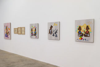 After Midnight in the Dynasty, installation view