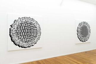 "Pablo Siquier : ""Bruit"", installation view"