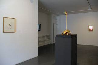 Jan Fabre // Gold and Blood (Sculptures and Drawings), installation view
