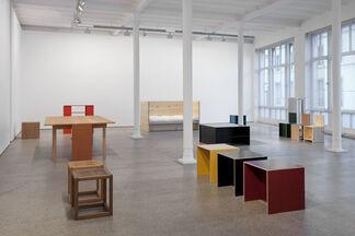 Donald Judd - Furniture, installation view