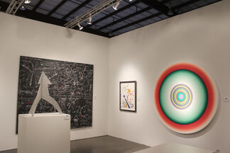 KM Fine Arts at Art Silicon Valley/San Francisco, installation view