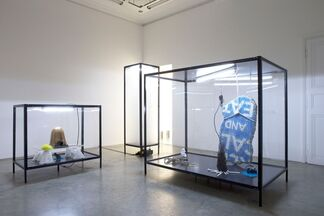 "IVAN ARGOTE ""STRENGTHLESSNESS"", installation view"
