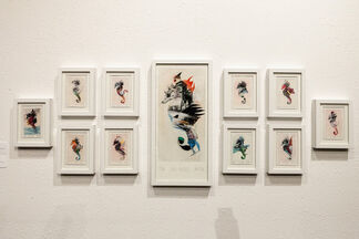 Troika: A Group Exhibition, installation view