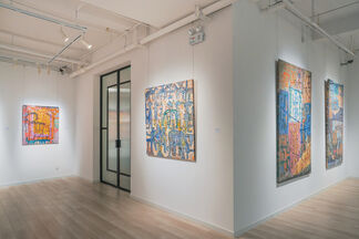 Reminiscences of the Mekong River, installation view