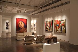 Bill Lowe Gallery Open House, installation view