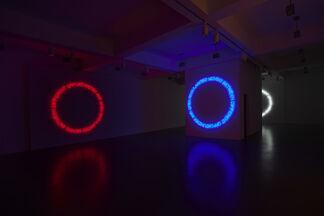 "MAURIZIO NANNUCCI ""New Works"", installation view"