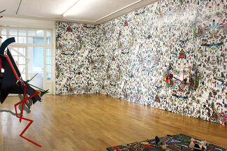 Anita Beckers at Art Brussels 2014, installation view