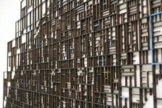 GACI / Prak-Sis Contemporary at CONTEXT New York 2017, installation view