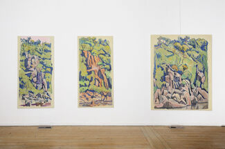 Guy Stuart: Recent Paintings, installation view