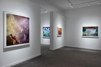 Kim Keever: Underwater Canvas, installation view