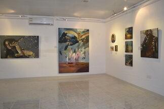 Simon Kaci Exhibition, installation view