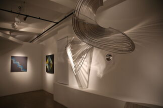 Interferences: Contemporary OP and Kinetic Art, installation view