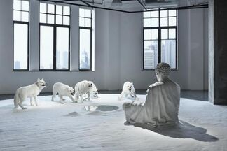 Maitreya Karuna & Prajna (Compassion & Wisdom), installation view