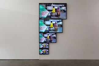 Flags, installation view