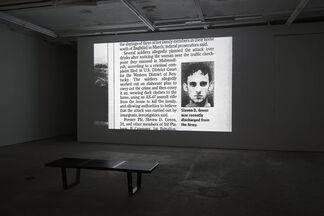 Jamie Shovlin - [sic], installation view