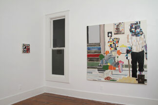 """MATTHEW BOURBON - """"Though it's Been Said- New Paintings"""", installation view"""