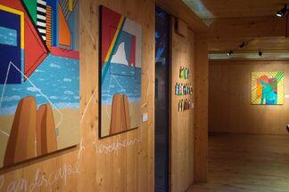 O Mundo Colorido da Taya, installation view