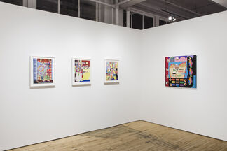 Collage as Painting: Kate Abercrombie and Trevor Winkfield, installation view