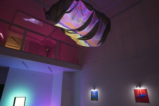 Currents, installation view
