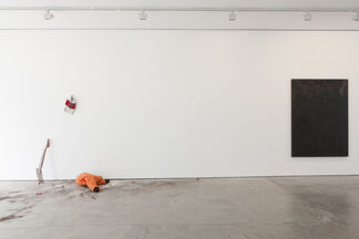 we stumbled as we clambered, installation view