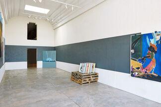 "TAMARA K.E., ""SCREWED UP SCREENS"", installation view"