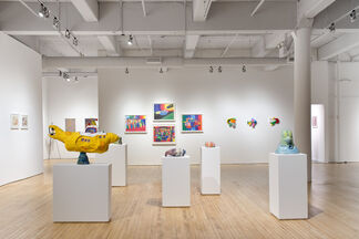All Different Colors, installation view