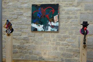 New Art Media, installation view
