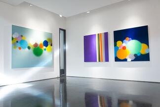 "Anda Kubis ""Vivid"", installation view"