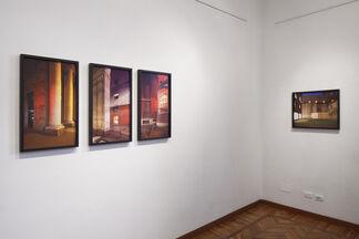 Marco Dapino - Ore di città, installation view