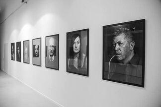 Portraits, installation view