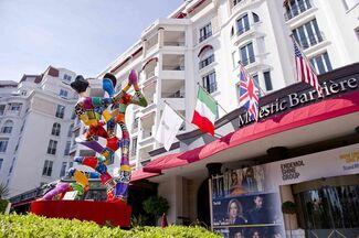 Dorit Levinstein: Hotel Majestic, Cannes, installation view