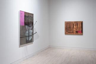 Robert Rauschenberg, installation view