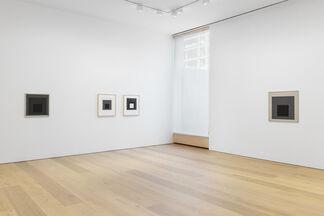 Josef Albers Grey Steps, Grey Scales, Grey Ladders, installation view