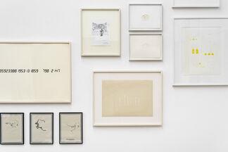 Zeichnung, installation view