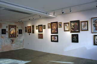 'TURBO FAITH, LADIES OF THE NIGHT & DANDY DELINQUENTS' By RAMON MAIDEN, installation view