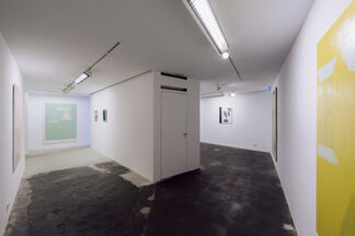 Over easy, installation view