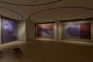"""Julian Schnabel """"Paintings that I hope Philip and David would like"""", installation view"""