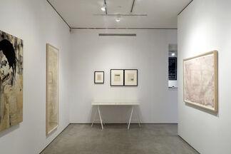 Matthew Cusick and Diane Samuels: Crosscurrents, installation view