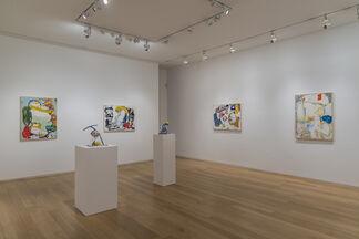 EDDIE MARTINEZ: Love Letters and Yard Work, installation view