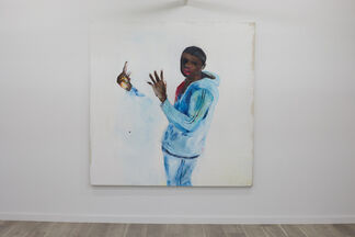 Only Touching the Ground to Jump, installation view