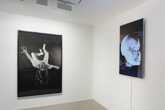 ORLAN, Masques, Pekin Opera facing designs & réalité augmentée, installation view