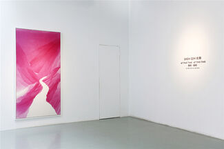 Shen Qin solo exhibition : At that time · At this time, installation view