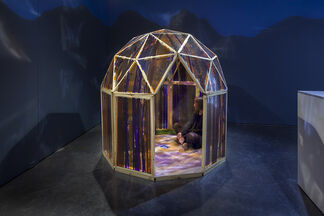 Angelica Teuta | Forest Houses Tent Shelters Forest, installation view