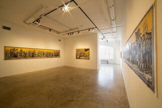 Sandow Birk and Elyse Pignolet: American Processsion, installation view