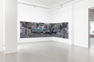 COLORS OF DESCENTS – Tobias Hild / Julius Hofmann / Robert Seidel, installation view