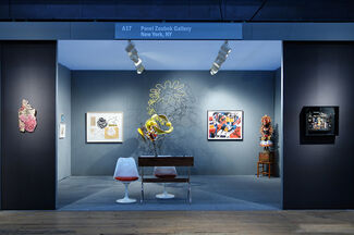Pavel Zoubok Gallery at ADAA The Art Show 2014, installation view