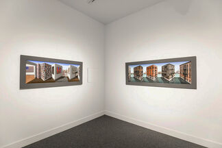 Patrick Hughes OPPERSPECTIVE, installation view