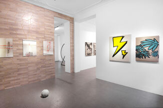 ON VIEW:, installation view