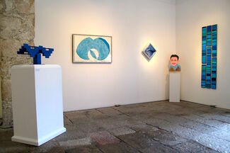 Kind of Blue: A Summer Group Exhibition, installation view